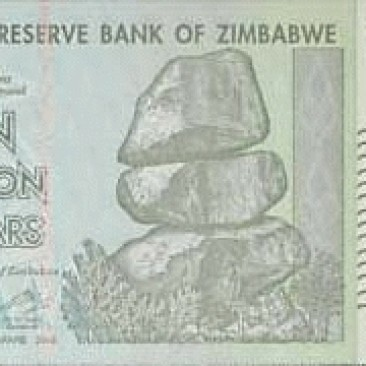 Foto Produk 10 Triliun Zimbabwe UNC dari Uang kuno