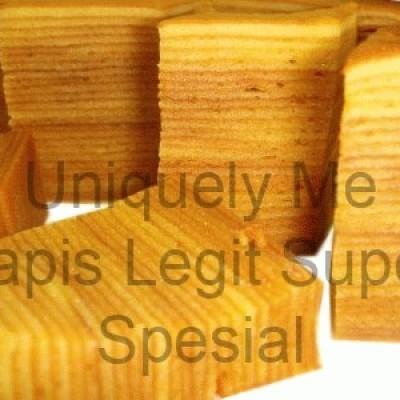 Foto Produk Lapis Legit Super Spesial (Full Wysjman Butter) Uk.20x20 dari Idol Cakes