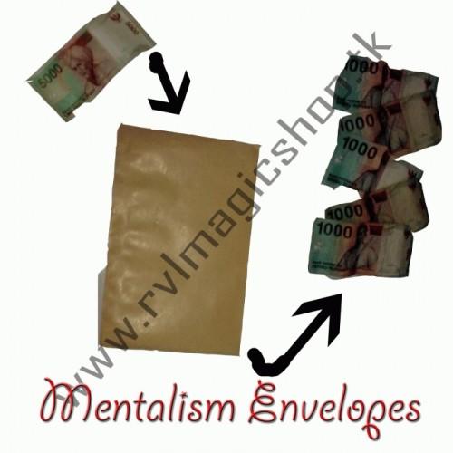 Foto Produk Mentalism Envelopes dari -RevivaL- MagicShop-