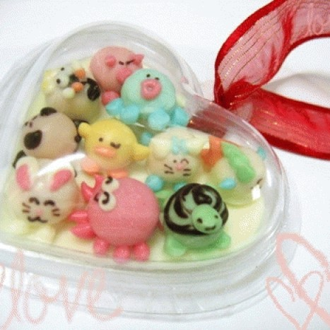 Foto Produk Little sweet in clear heart campur dari Choco Shop