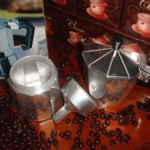 Foto Produk Moka Pot (Moka Express) 6 Cup ALUMINIUM dari D' ESPRESSO