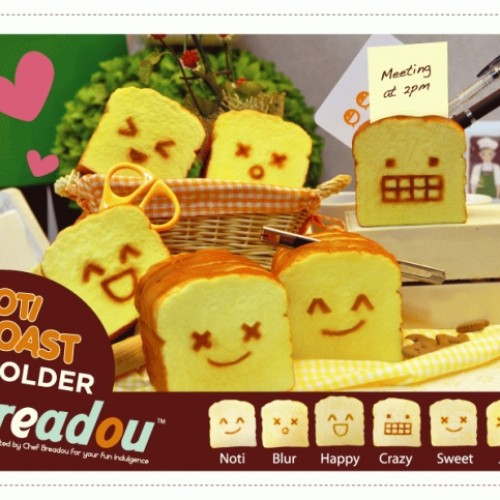 Foto Produk Roti Toast Holder dari Breadou Indonesia