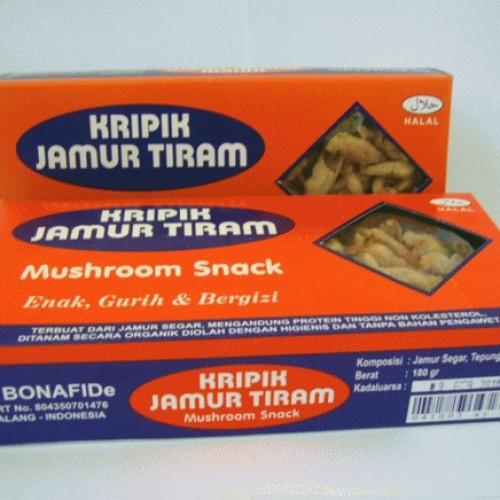 Foto Produk Keripik Jamur Tiram dari KERIPIK TEMPE AINIER