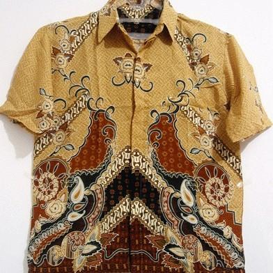 Foto Produk Batik Coklat Muda dari Ngadi OnlineShop
