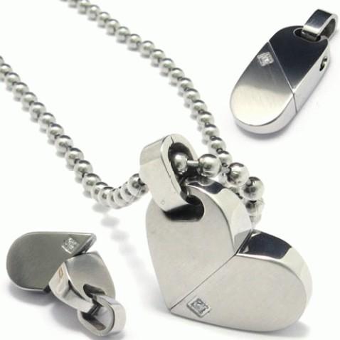 Foto Produk Kalung White Heart dari KLIKHADIAH