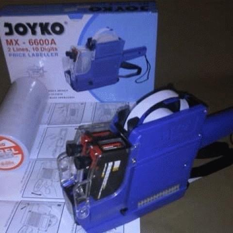 Foto Produk Joyko Price Labeller MX.6600A ( mesin penempel stiker harga untuk pakaian butik) + BONUS 10 ROL STIKER dari putrimadani