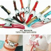 Foto Produk Jam Tangan Gelang Tali Kulit (Leather) Korean Lady dari Elenna-Store