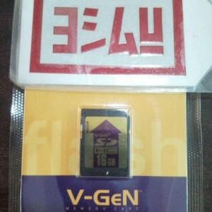Foto Produk V-GEN SD Card HC (With CPRM License ) 16 GB dari EVERYTHING4U