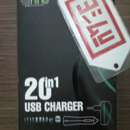 Foto Produk 20-in-1 (10in1 for 2 Ways Charging) Essential USB & Car Charger by 9nine dari EVERYTHING4U