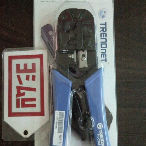 Foto Produk TRENDnet RJ 45/RJ 11-Crimp/Cut/Strip Tool dari EVERYTHING4U