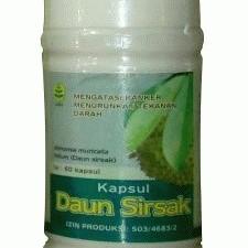 Foto Produk Kapsul Daun Sirsak dari Herbal Online Shop