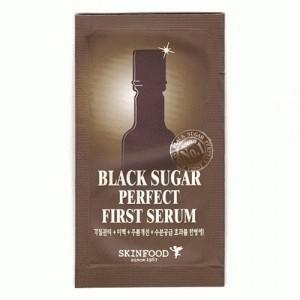 Foto Produk Skin Food Black Sugar Perfect First Serum SAmple SAchet 4 ml dari Pr3tty Shop