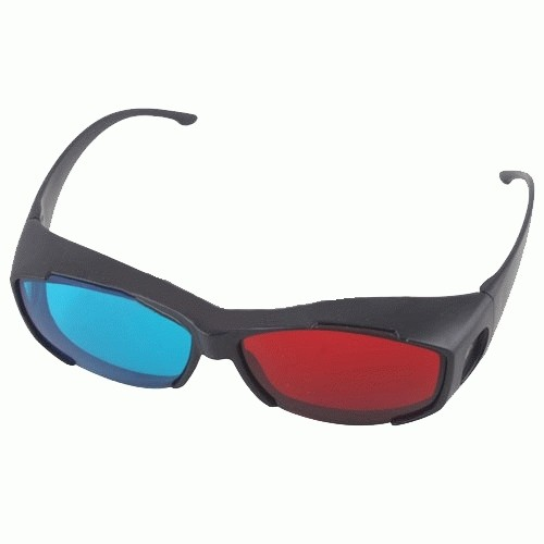 Foto Produk Kacamata 3D nVidia Vision Red/Cyan Red/Cyan dari Kacamata Dan Film 3D