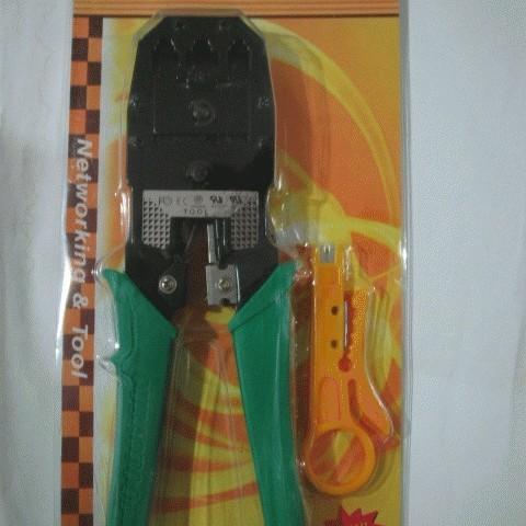 Foto Produk Crimping Tool Triple (RJ-45 + RJ-11) + Cutter dari Dbestcompushop