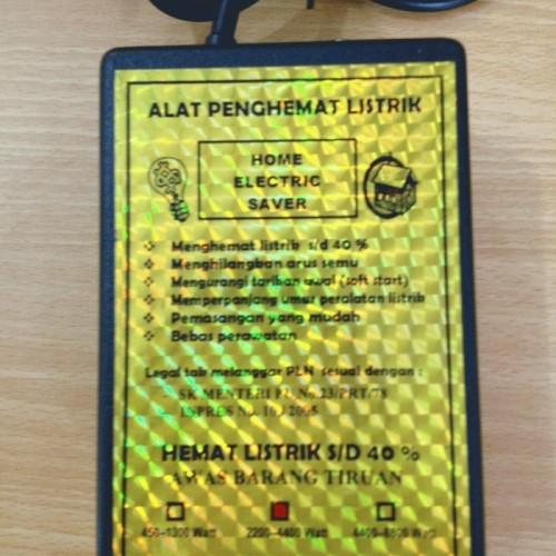 Foto Produk PENGHEMAT LISTRIK Utk Daya 2200-4400 Watt Garansi 1 Th dari Unik99