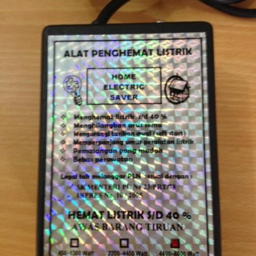 Foto Produk PENGHEMAT LISTRIK Utk Daya 4400-8800 Watt Garansi 1 Th dari Unik99