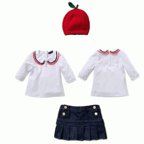 Foto Produk Baju Anak - 3in1 Apple Hat Set (GI-304) dari Pusat Baju Anak