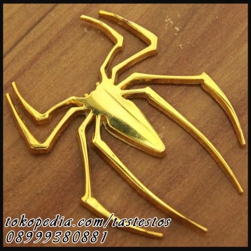 Foto Produk Emblem Spiderman Metal & Gold Chrome dari TasTesTos