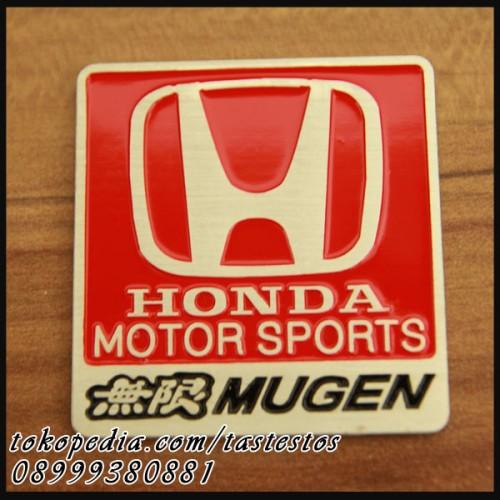 Foto Produk Emblem Mugen Red Honda dari TasTesTos