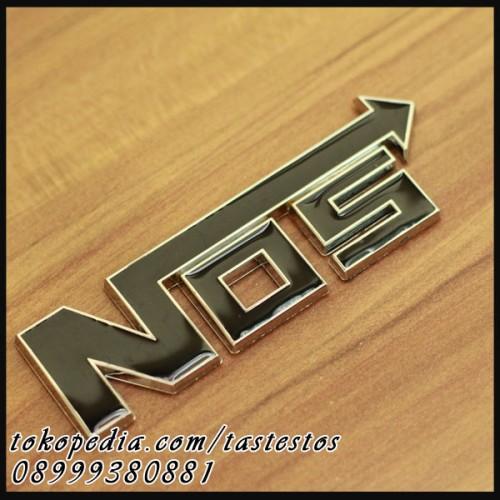 Foto Produk Emblem NOS Hitam dari TasTesTos