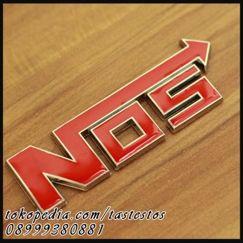 Foto Produk Emblem NOS Merah dari TasTesTos