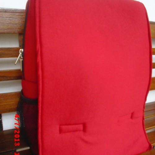 Foto Produk Tas Ransel Laptop Maroon dari Radintas