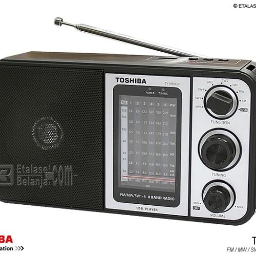 Foto Produk TOSHIBA TY-HRU30 8 BANDS PORTABLE RADIO WITH MP3 PLAYER - Hitam dari EtalaseBelanja