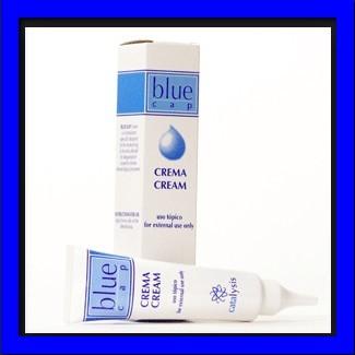Foto Produk Blue Cap Cream tube Obat Ketombe, Dermatitis Seboroik, dan Eksim dari Reiton Shop