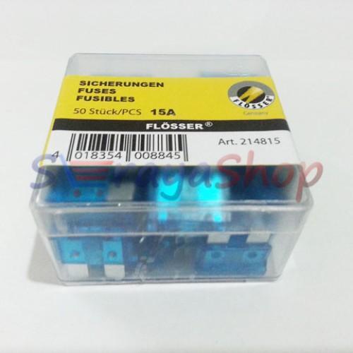 Foto Produk Sekring / Fuse Blade (DX) 15A (Biru) Flosser dari Seraya Shop