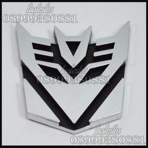Foto Produk Emblem Transformers Decepticons ( Medium Size ) dari TasTesTos