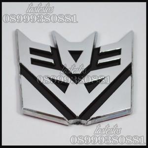 Foto Produk Emblem Transformers Decepticons ( Small Size ) dari TasTesTos