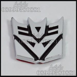 Foto Produk Emblem Transformers Decepticons ( Mini Size ) dari TasTesTos