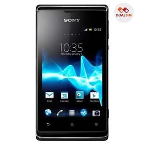 Foto Produk Sony Xperia E Dual C1605 - 4 GB - Hitam Garansi Resmi Sony 1 Tahun dari CariHP