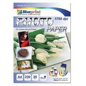 Foto Produk Photo Paper (BP-GPA4230) - A4, 20 Sheet, 230 gsm, Cast Coasting, Glossy, Water Resistant / Polos   dari Wishes Computer