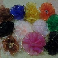 Foto Produk 5cm Bross Jilbab, Bross Bunga (Bahan Pita Organdi) dari BBC Shop