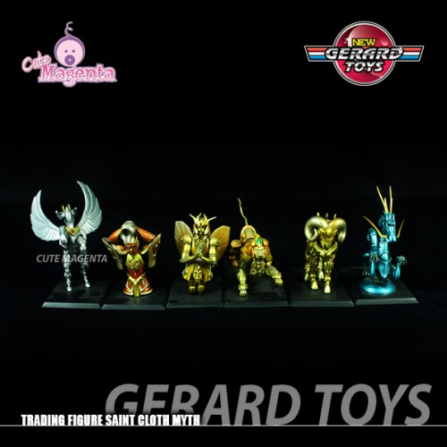 Foto Produk Saint Seiya Object set isi 6 - Trading Figures - Bandai - Ori dari GERARD-TOYS