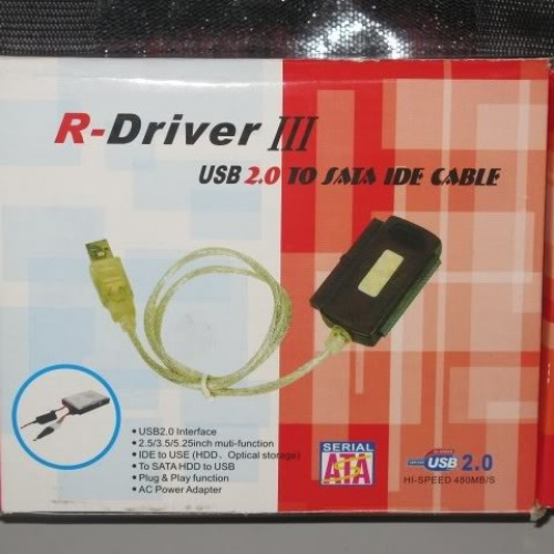 Foto Produk USB 2.0 To IDE + SATA Adapter dari Toko Komputer Mbah Priok