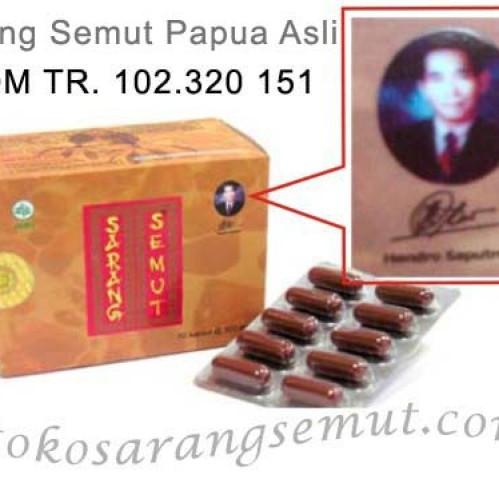 Foto Produk Kapsul Ekstrak Sarang Semut Merah Papua Asli dari Toko Sarang Semut