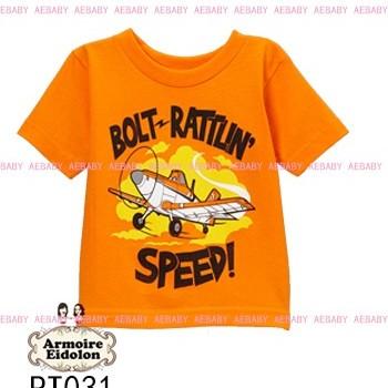 Foto Produk Tee plane orange dari SHINTA PIPPYBABYWEAR