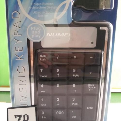Foto Produk KEYBOARD NUMERIK USB dari Zona Belanja