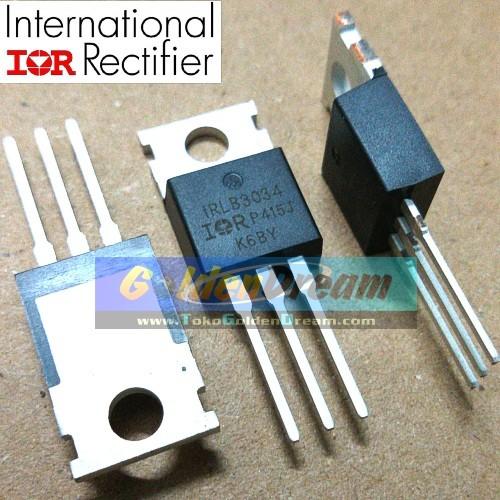 Foto Produk Mosfet IRLB3034 40V 195A 1.7m IR TO-220 IRLB 3034 Power Rectifier dari Golden Dream