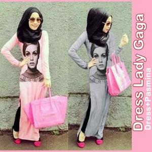 Foto Produk Dress Lady + Pashmina dari BubbabeLLe BoutiQue