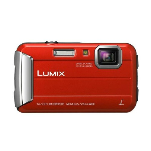 Foto Produk Panasonic Lumix DMC - FT25 Red Kamera Pocket dari OK SHOP OF INDONESIA