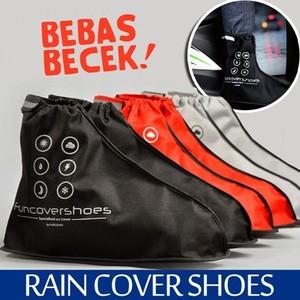 Foto Produk Distributor Jas sepatu cover shoes mantel hujan anti air Funcover cosh - XL Hitam dari lbagstore