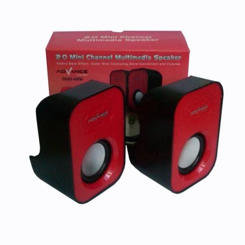 Foto Produk Advance Speaker USB Duo-026 dari serunicomp