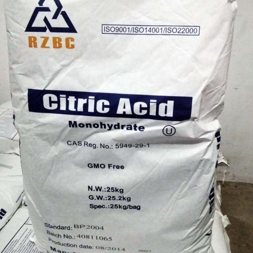 Foto Produk Citric Acid Monohydrate / Asam Sitrat / Asam Sitrun dari emasbiru