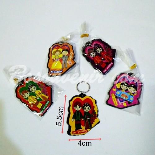 Foto Produk Souvenir Gantungan kunci Pengantin Murah dari Bosouvenir com