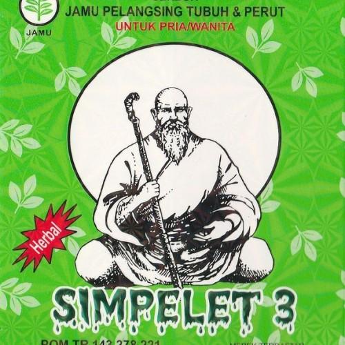Foto Produk Jamu Pelangsing Simpelet 3 (PAKET ISI 2 KOTAK) dari Simpelet Shop