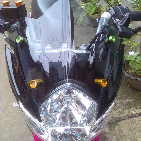 Foto Produk Visor Satria Fu Model Lancip Batok besar dari Nata Permana Motor Shop