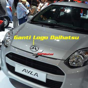 Foto Produk Emblem/Logo Daihatsu Pengganti Logo Ayla dari SIPMotor